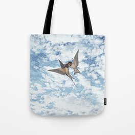 The return. Tote Bag