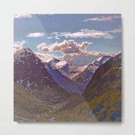 fantastic mountains 4 Metal Print