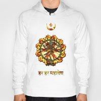 shiva Hoodies featuring Shiva  by Khana's Web