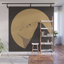In The Sun   Yellow and Brown Color Palette Wall Mural