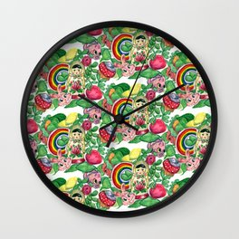 Colorful Classroom Wall Clock