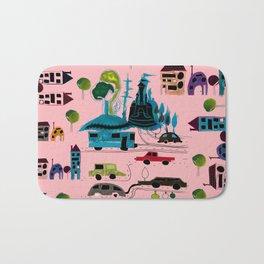 CityView pink Bath Mat