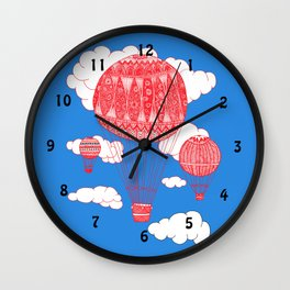 balloon clock Wall Clock