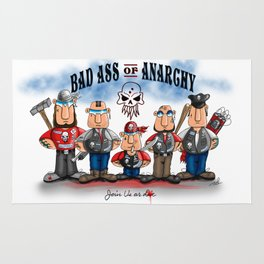 Bad Ass of Anarchy Rug