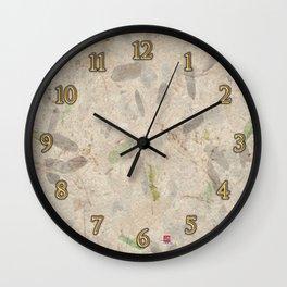 DW-035 Autumn Leaves #1 Wall Clock