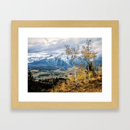 Colorado Autumn Framed Art Print