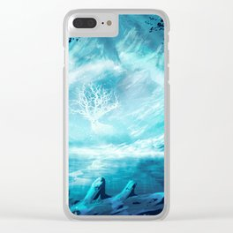 The Last Deity Clear iPhone Case