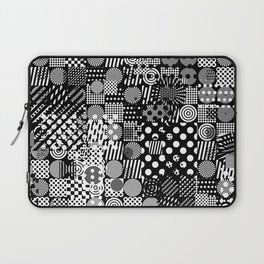 Halftone Collage Laptop Sleeve