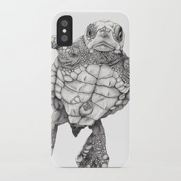 Chelonioidea (the turtle) iPhone Case
