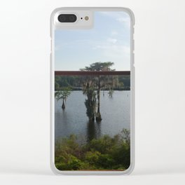 Cypress to Bama Clear iPhone Case