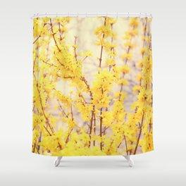 Hello Yellow! Shower Curtain