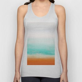Waves and memories 02 Unisex Tank Top