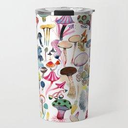 Mushroom Collection - b r i g h t s Travel Mug