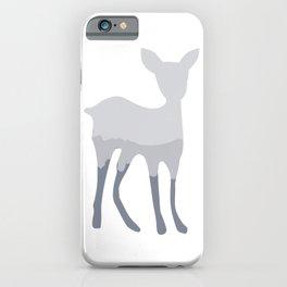 Magic cute Minimal deer illustration iPhone Case