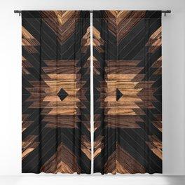 Urban Tribal Pattern No.7 - Aztec - Wood Blackout Curtain