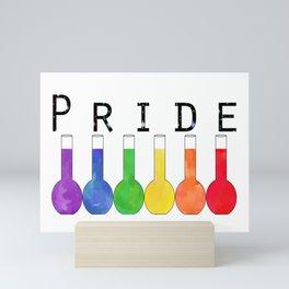 Proud to be a Scientist Mini Art Print