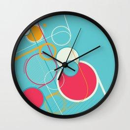 Ventana Azul Wall Clock