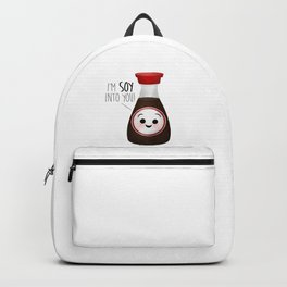 I'm Soy Into You! Backpack