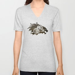 Sher (Lion) Unisex V-Neck