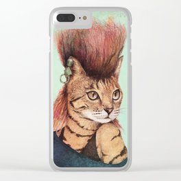 Caty Clear iPhone Case