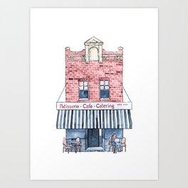 644 Darling St Art Print