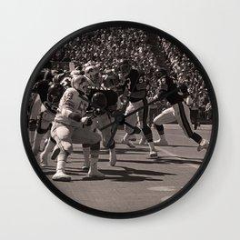 Roland Harper : Bears vs. Lions : Soldier Field : 1974 Wall Clock