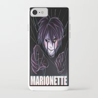 fnaf iPhone & iPod Cases featuring Marionette pic 2 by Nazaki Cain