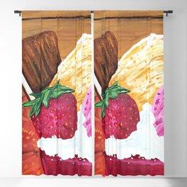 Ice Cream Dream Blackout Curtain
