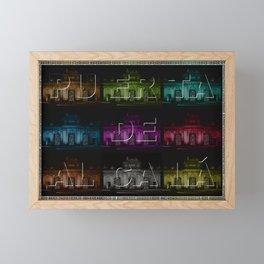 Puerta de Alcalá V0 Framed Mini Art Print