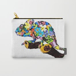 Blending in with Flowers Carry-All Pouch
