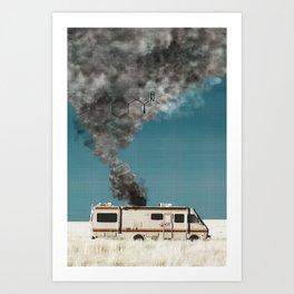 Motorhome BreakingBad Art Print