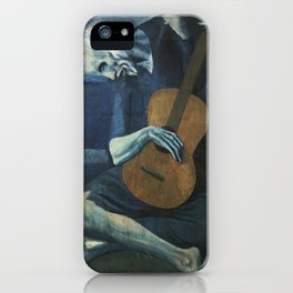 The Old Guitarist iPhone Case