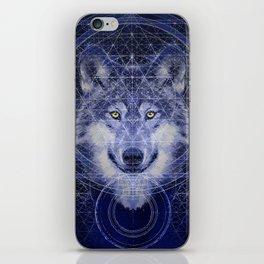 Wolf Geometry iPhone Skin