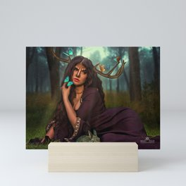 Lady Of The Forest Mini Art Print