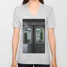New York City Subway Unisex V-Neck