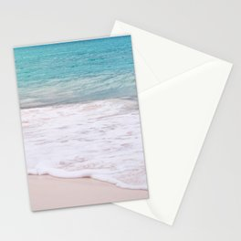 Turquoise Ocean Wave Stationery Cards