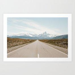 EL CHALTEN Art Print
