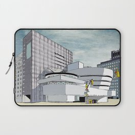 Salomon R. Guggenheim Museum, New York City Laptop Sleeve