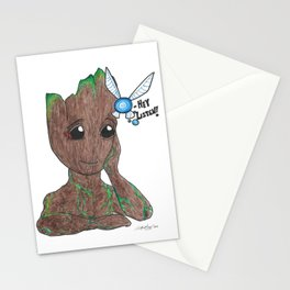 Tree and fairy Stationery Cards