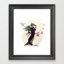 foxy uh? Framed Art Print