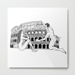 Rome-ance Metal Print