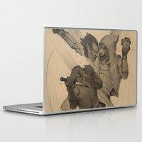 skyrim Laptop & iPad Skins featuring Akrash by Hieronymus7Z