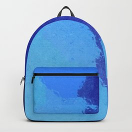 The Deep End Sea Blue Backpack