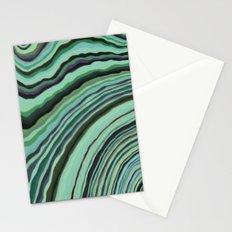 Mineralicious~Mint Tourmaline Stationery Cards