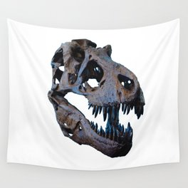 The Dinosaur Skull (Color) Wall Tapestry