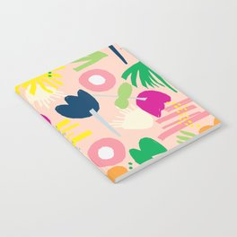 Color Collage Florie Notebook