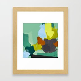 Palette for young people Framed Art Print