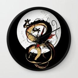 Black Dragon Wall Clock