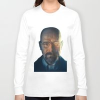 walter white Long Sleeve T-shirts featuring Walter White by turksworks