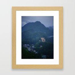 Schloss Hohenschwangau Framed Art Print
